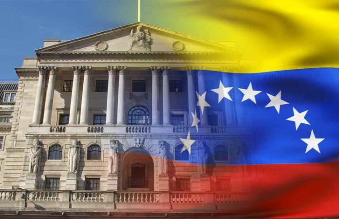 Bank of England Holds Venezuelas Gold Reserves Hostage - Венесуэла будет судиться с Банком Англии из-за золота