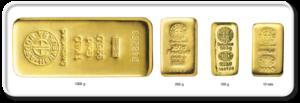 Cast bars vid 300x103 - Литой слиток золота