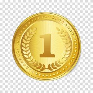 cartoon gold medal bronze medal olympic medal gift silver medal pin badges coin metal png clipart 300x300 - купить продать золото