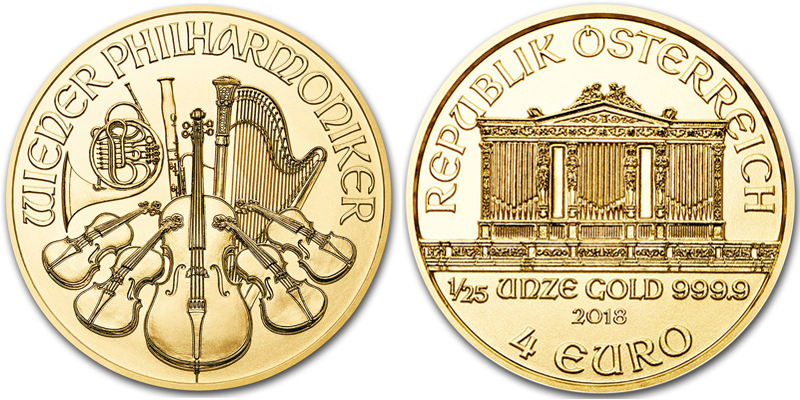 Investicionnaya moneta Venskij Filarmoniker - Венская филармония