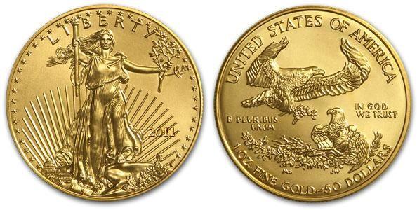 moneta Amerikanskij orel - Американский орел