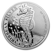 moneta Karibskij morskoj konek - монета Карибский морской конек