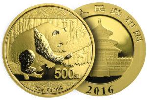 moneta Kitajskaya zolotaya panda 300x203 - монета Китайская золотая панда