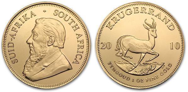 moneta juzhnoafrikanskij krjugerrand - Южноафриканский крюгерранд