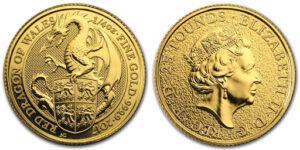 moneta zveri korolevy 300x150 - Монеты