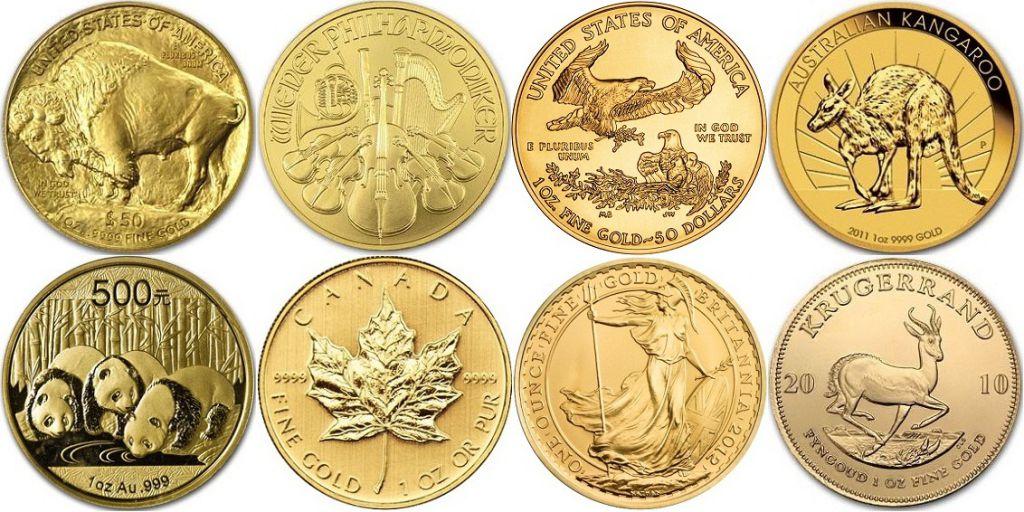monety investicionnye - Монеты