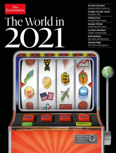 Economist 2021 - Предсказание от журнала Economist: расшифровка обложки на 2021 год