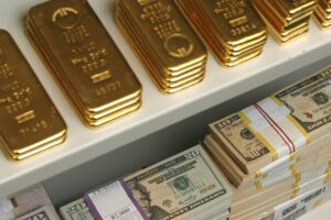 золото доллар