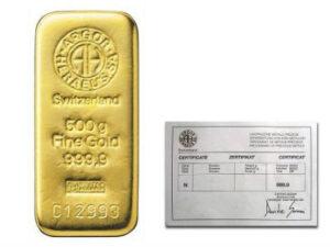500 gram argor heraeus gold bar 300x225 - купить золота за криптовалюту